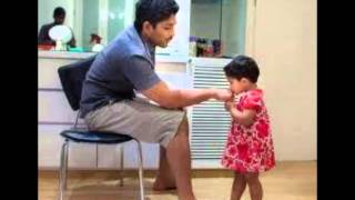 Actor Allu Arjun Sylish Star  real life with his family video