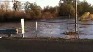 Butte County California high water December 2nd 2012