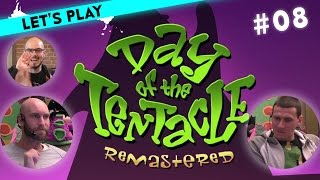 [8/9] Let's Play Maniac Mansion Day of the Tentacle mit Hannes, Ralph und Gregor | 22.03.2016