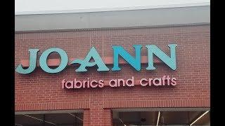 ✂� JoAnn Fabric & Crafts Store Walk-Through ✂�