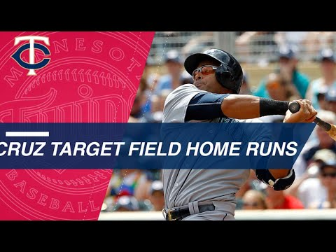 Twins - VIDEO: Every Nelson Cruz home run hit at Target Field! | KFAN 100.3 FM