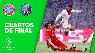BAYERN 2-3 PSG - RESUMEN 1/4 DE FINAL DE CHAMPIONS LEAGUE