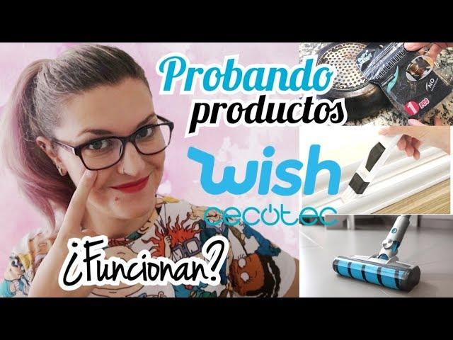 PROBANDO PRODUCTOS WISH DE LIMPIEZA + Aspirador Cecotec