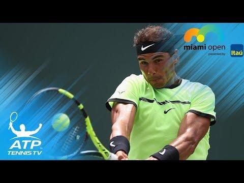Rafael Nadal's Best Shots at Miami Open