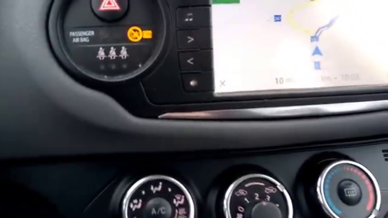 Yaris Toyota Touch 2 Navigation Mirrorlink Youtube
