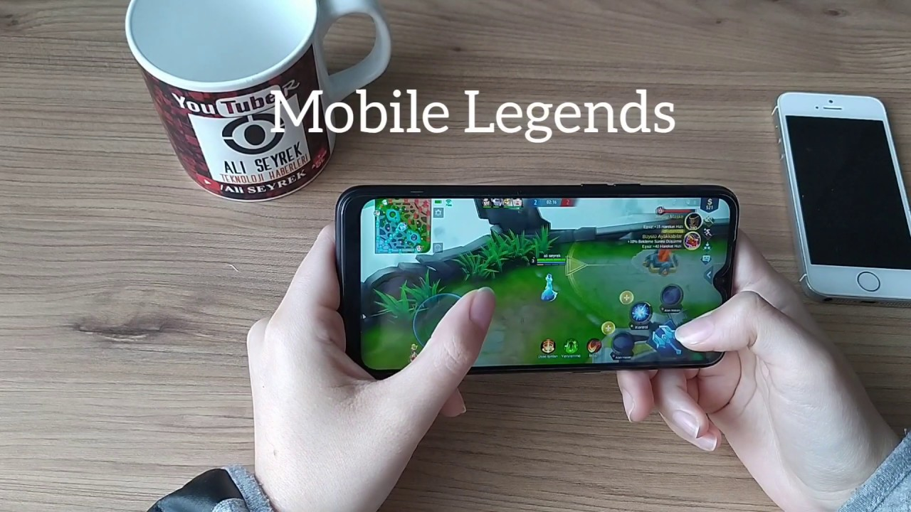 Realme C2 Cep Telefonu Oyun Testi Pubg  Call of Duty (Pil Test)