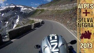 En moto a los Alpes y Selva Negra 2013