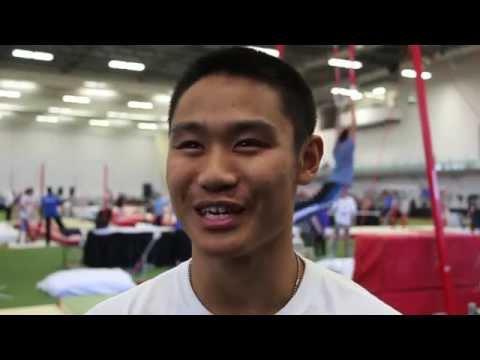 Interview: Robert Watson - 2015 Canadian Gymnastics Championships