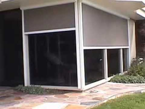 Awnco Retractables Vertical Sun Screen