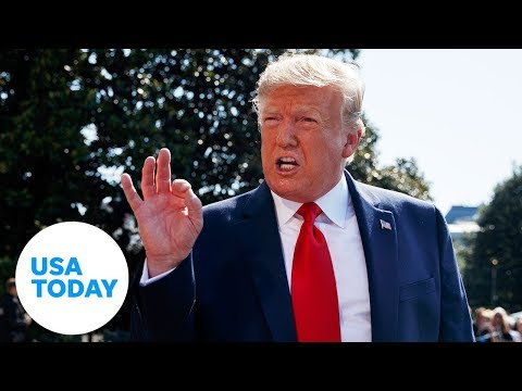 President Donald Trump speaks outside the White House   USA TODAY