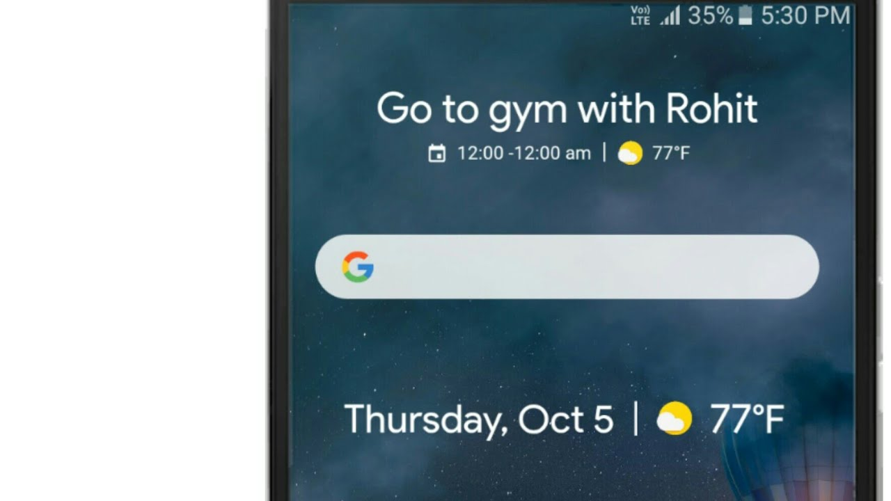 How to get all Pixel 2 Widgets on any android
