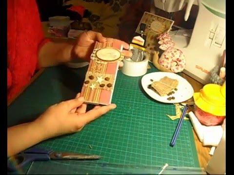 видео: Шоколадница своими руками/Коробочка для денежного подарка/Идеи для паковки подарка/Скрапбукинг/