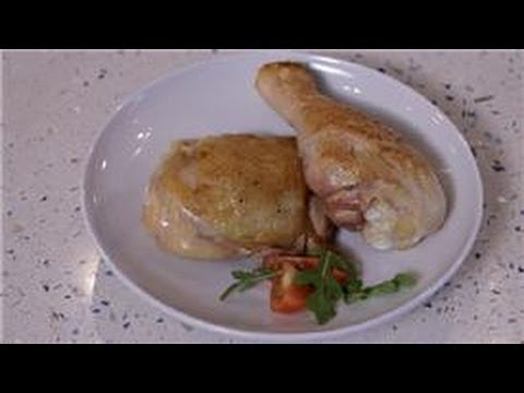 Recipes For Chicken : How to Brown the Skin on a Chicken
