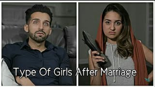 Sham Idrees - Types Of Girls After Marriage | Froggy