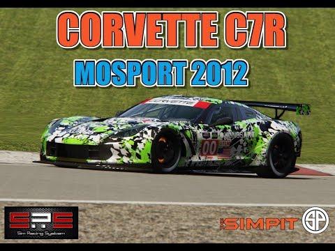 corvette c7r mosport 2012 assetto corsa sim racing. Black Bedroom Furniture Sets. Home Design Ideas