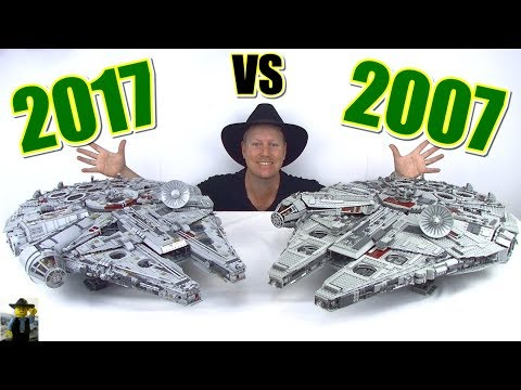 ULTIMATE Comparison UCS Millennium Falcon 10179 vs 75192 Review