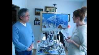 ТОКИО.Уроки Живописи и рисования с Максом Скоблинским. не Сахаров