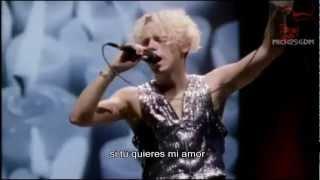 Depeche Mode- Judas  [Subtitulos Español] [Devotional Tour ]