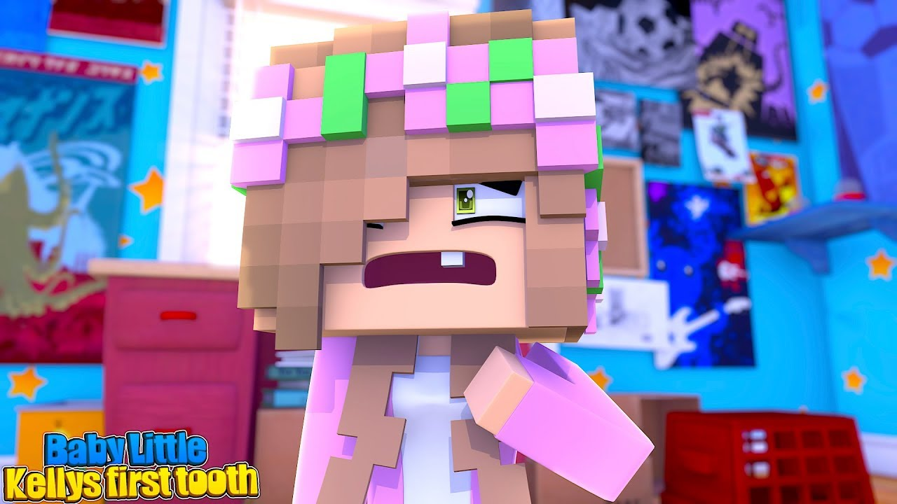 baby-little-kellys-first-ever-tooth-minecraft-little-kelly