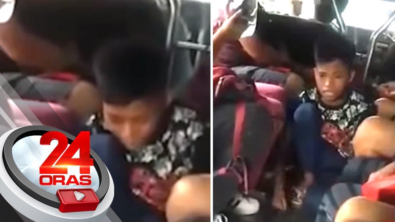 Download Video ng batang nagra-rap sa loob ng jeep para mamalimos, nag-viral online   24 Oras