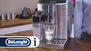 How to make the perfect cappuccino in your De'Longhi PrimaDonna S Evo ECAM 510.55.M coffee machine