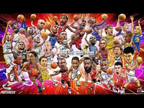 "NBA LEGENDS- ""HALL OF FAME"""