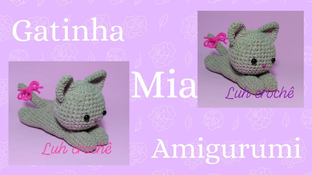 Nuvem Amigurumi Pap Digital - Arte em Crochet | 720x1280