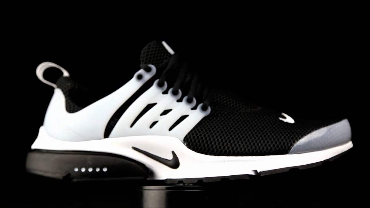Nike Air Presto Essential negro-blanco. - YouTube 8af6fc76ccc