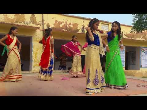 Jahan Paon Mein Payal Hath Mein Kangan Ho Mathe Pe Bindiya Ritika School Ladki Jabardast Dance