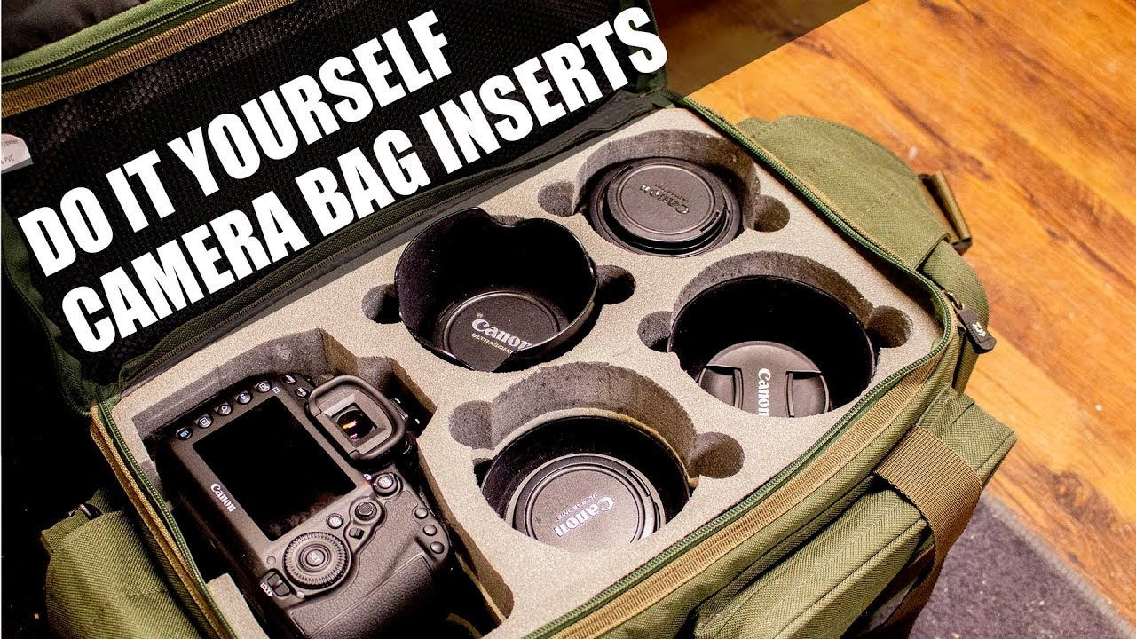 Diy Camera Bag Inserts You
