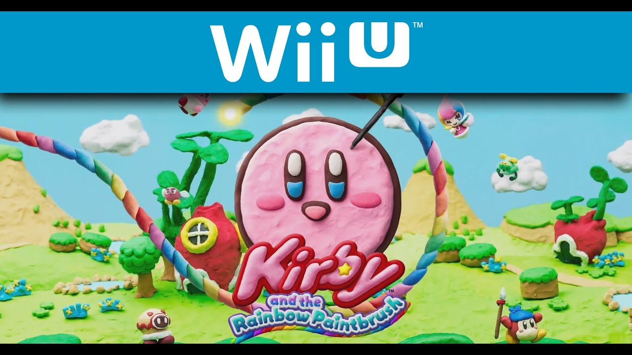 kirby and the rainbow paintbrush trailer wii u