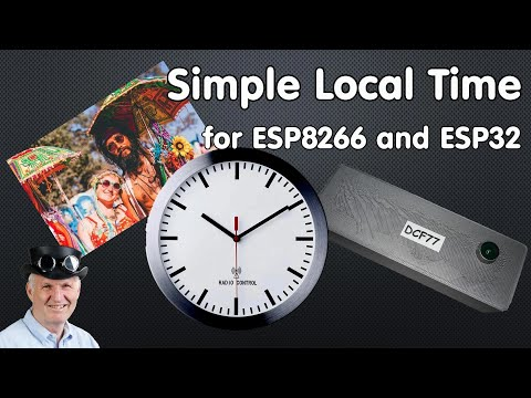 Tricks to get local  NTP time for the ESP32 and the ESP8266 incl. Summer- and Daylight Saving time