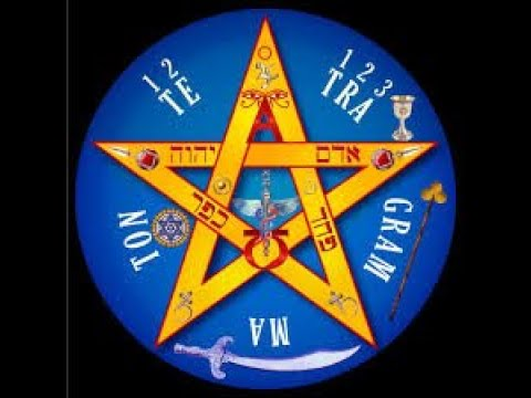 ⭐️ The Pentagram  ⚡️The Microcosmic Star