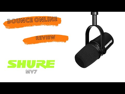 Shure MV7 review by Vin Deysel, Bounce Online