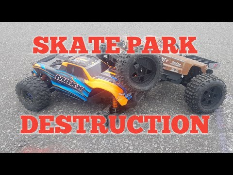 ARRMA OUTCAST 4S AND TRAXXAS MAXX: Outcasts First Run