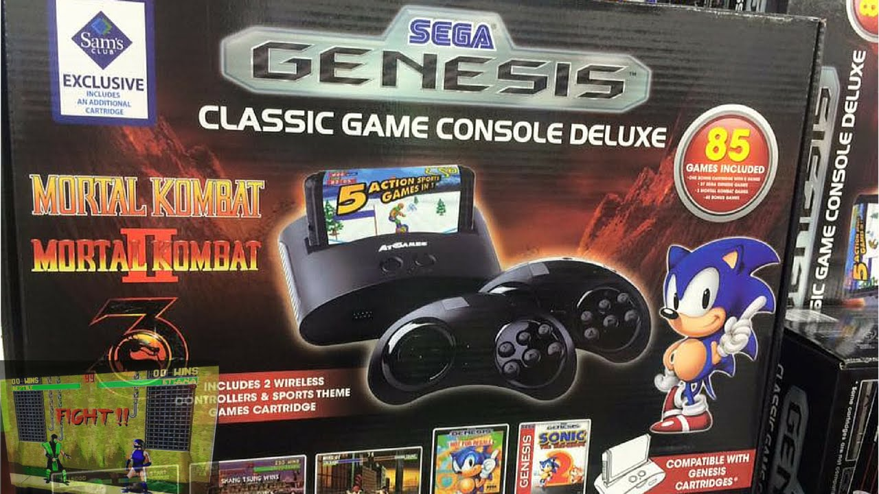Sam S Sega Genesis Console Deluxe 85 Sega Games Youtube