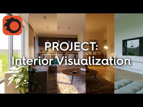 Complete Project - Interior Visualization 3/6: Materials