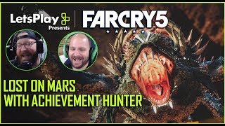 Far Cry 5: Squishing Space Crabs-  Lost On Mars With Achievement Hunter| Let's Play Presents|Ubisoft