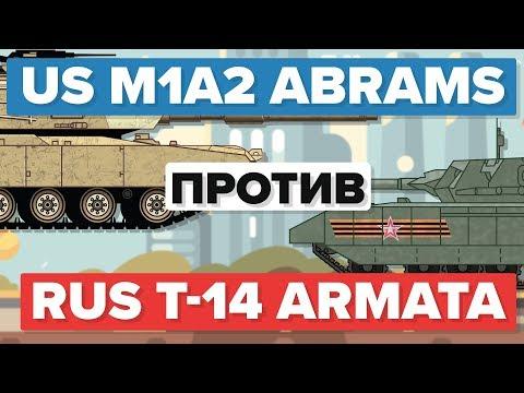 Американский M1 (M1A2) Абрамс против Русского Т-14 Армата