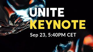 Unite 2019 Keynote – Livestream on the NEW FEATURES!