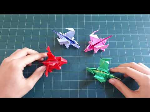 How to make a paper dragon #2