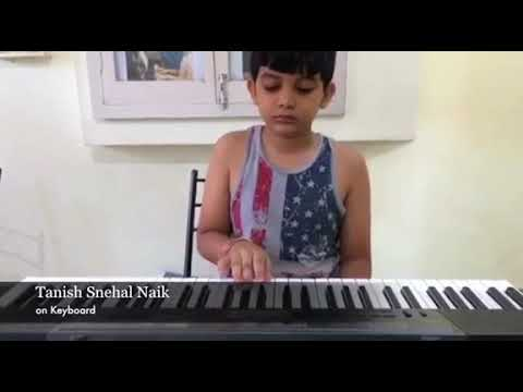 Lakdi ki Kathi song by Tanish Snehal Naik at Krishna Music Academy