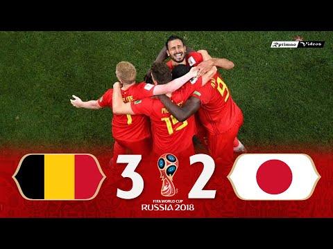 Belgium 3 x 2 Japan ● 2018 World Cup Extended Goals & Highlights HD