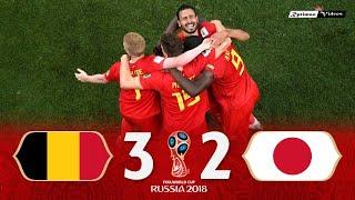 Belgium 3 x 2 Japan ● 2018 World Cup Extended Goals \u0026 Highlights HD