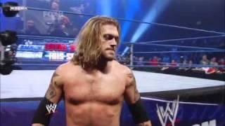 Edge spears Dolph Ziggler 4 times!