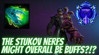 Stukov Shove - STЏKOV NERFS MIGHT BE BUFFS?!? - Grandmaster Storm League