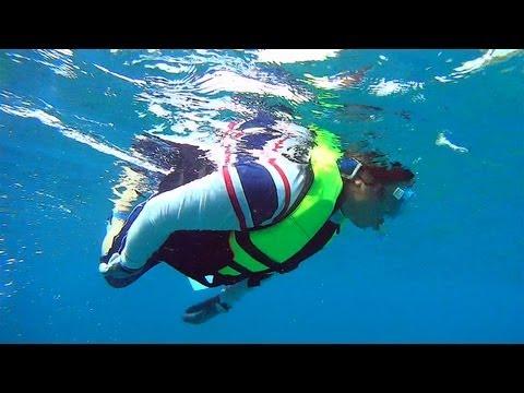 クラブメッドのスノーケリングボートトリップ Snorkeling Boat Trip Club Med