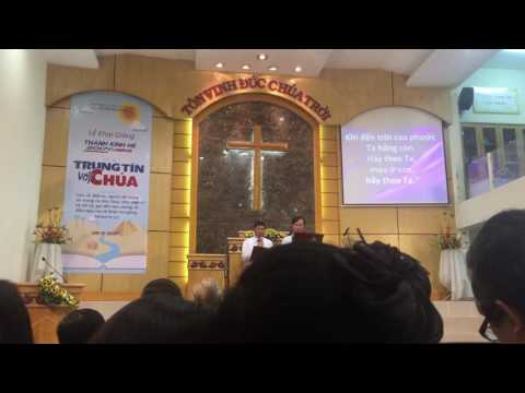 """Tôn vinh Chúa Thánh Ca 363 """"Hãy theo Ta"""" Song ca nam Hội Thánh Tin Lành Chi Hội Hoà Hưng"""