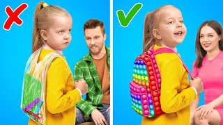 BACK to SCHOOL! Aweṡome School Crafts and Hacks For Parents