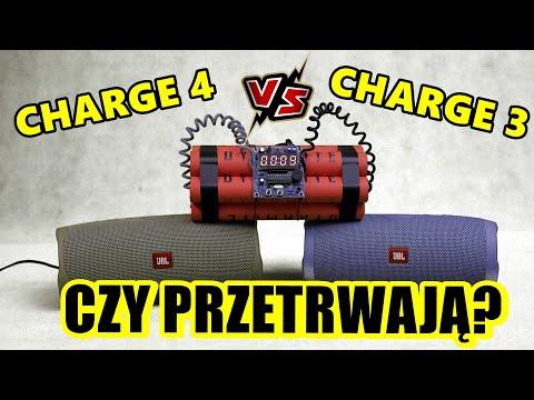 Decybele to nie wszystko - porównanie i test JBL CHARGE 3 vs CHARGE 4 vs podróbka